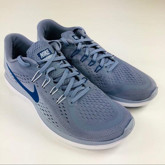 36fa3c059f94 Nike Flex 2017 RN Running Shoes Mens 11 Sky Blue
